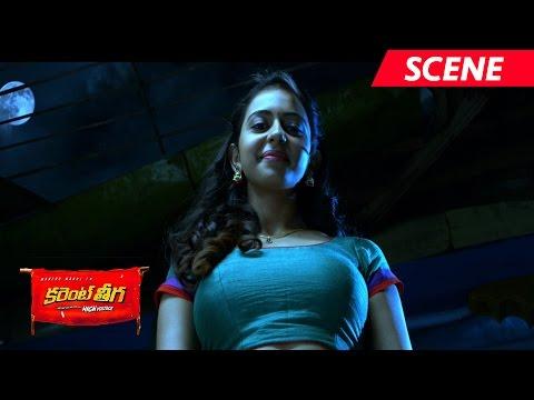 Rakul Preet Singh Romantic Scene - Current Theega Movie Scenes