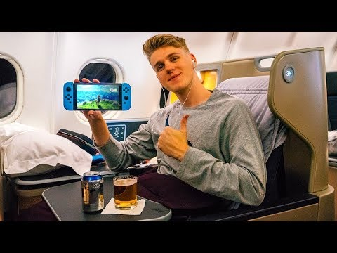 WE GOT A BUSINESS CLASS UPGRADE JAPAN VLOG
