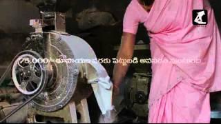 Chukki processing village level - Business Video(Telugu)