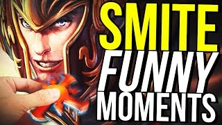 MERCURY FIDGET SPINNER BUILD! - SMITE FUNNY MOMENTS