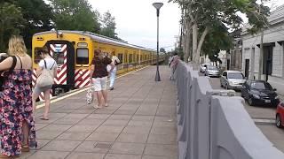 Línea Urquiza - Toshiba chapa 16 en Ruben Darío