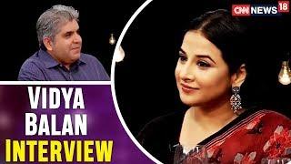 Rajeev Masand Interviews Vidya Balan   Tumhari Sulu   The Bollywood Roundtable 2017   CNN-News18