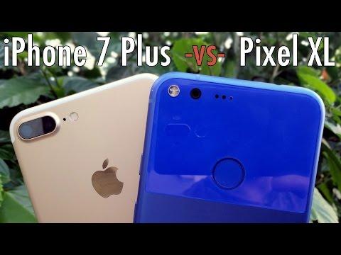 Google Pixel XL vs iPhone 7 Plus: The better bigger phone?