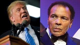 Muhammad Ali Hits Back at Trump's Anti-Muslim Comments