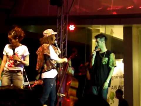 [2] Dew & Chin @ Channel V thailand music festival