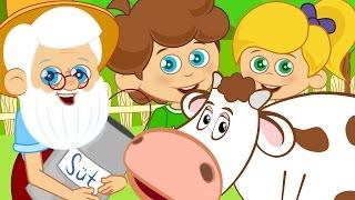 Tonton Dedenin Çiftliği - Çocuk Şarkıları 2016 - Sevimli Dostlar -Adisebaba TV