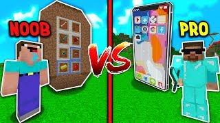IPHONE CỦA NOOB VS PRO TRONG MINECRAFT 📱😂