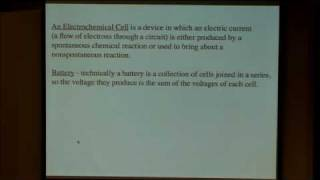 25. Electrochemical cells