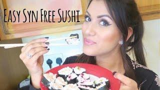 How to make Syn Free Sushi | Slimming World Sushi Recipe | Olivia Elise