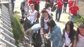 A1 Report - LRI aksion për pastrimin e Shqipërisë 'Kandidatët e majtë vëmendje mjedisit'