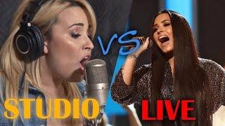Demi Lovato - Studio vs Live (2017 Update)