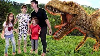 دخلوا عالم الديناصورات!