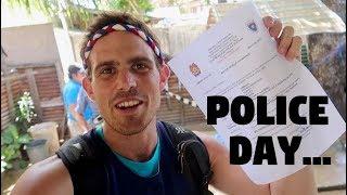 HAD TO GO TO A FILIPINO POLICE STATION (Goodbye Island)