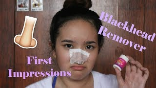 Best Blackhead Remover?!? First Impressions | Philippines