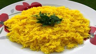 How To Make Persian Rice - طريقة تحضير الأرز الإيراني
