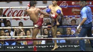 Muay Thai Fight - Wanchai vs Sam D, Rajadamnern Stadium Bangkok - 2nd April 2015