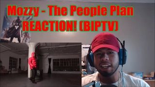 Mozzy - The People Plan REACTION! (BIP)