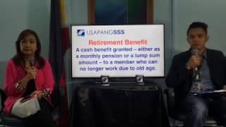 SSS Retirement Benefit / Pension Computation I Public Service