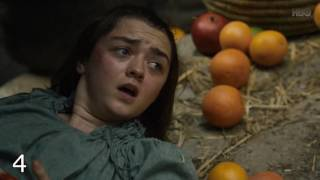Top 10 Worst Game of Thrones Scenes (Season 1-6)