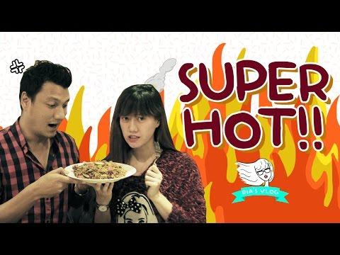 Kepedasan Bareng BOSS GANTENG..! - Ria's Vlog #12