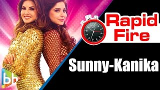 Sunny Leone | Kanika Kapoor's Funny Rapid Fire On Priyanka Chopra, Alka Yagnik, Ila Arun