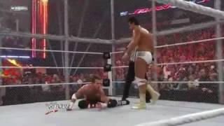 WWE  - John Cena Vs CM Punk Vs Alberto Del Rio - Cage Match