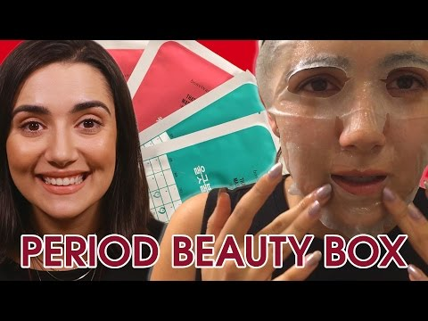 I Tried A Period Beauty Box