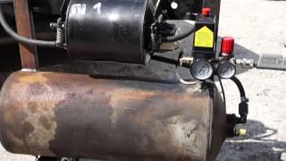 Как сделать компрессор из баллона