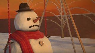Orang-orangan salju mengucapkan selamat hari Natal! - Tomonews