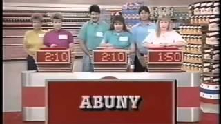 Supermarket Sweep - Barbara & Barbara Jean vs. James & Karin vs. Neil & Kathy (1990)