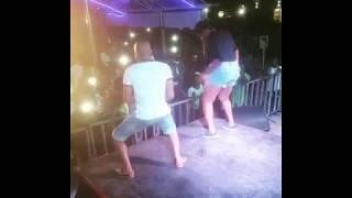Fan goes Naked as Harrysong Performs on stage in Owerri