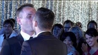 Premier mariage homo: ils se disent