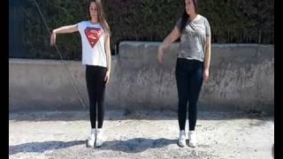 رقص على اغنية لوكا لوكا😘😘