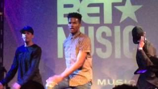 Trevor Jackson & Diggy Simmons Live NYC In My Feelings Tour