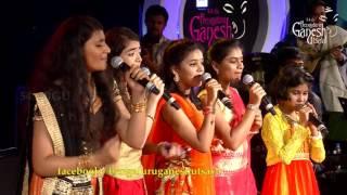 'Huttidare Kannada Naadalli' by Zee TV Saregamapa Lil Champs @ 54th Bengaluru Ganesh Utsava