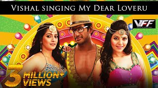 Vishal singing My Dear Loveru - Madha Gaja Raja Official Promo Video Song in HD