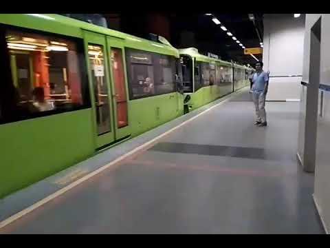 Bursa Metrosu Acemler İstasyonu. 11 Ağustos 2017