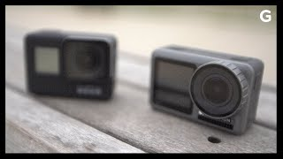 DJI Osmo Action VS GoPro Hero7 Black