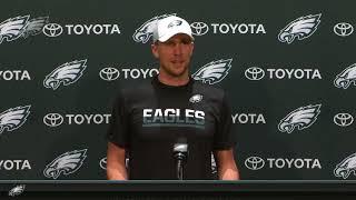 Press Pass: Eagles QB Nick Foles (12/12/17)