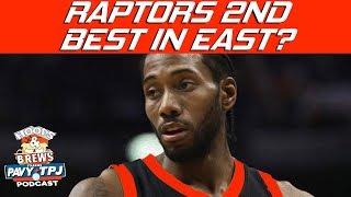 Does Kawhi Leonard Make Raptors 2nd Best Team In East ? | Hoops N Brews