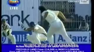 Shahid Afridi Fast Bowling vs India Pakistan vs India Test HQ   YouTube