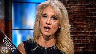 "Kellyanne Conway FLIPS Out, Calls Woman A ""Jackass"""