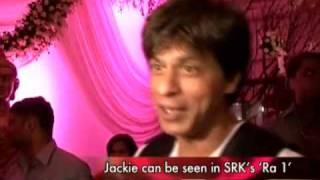 Jackie Chan meets Shah Rukh Khan