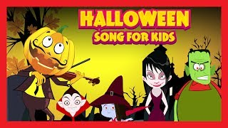 Halloween Song For Kids- Kids Halloween ||Halloween Celebration Songs For Children - Kids Hut Rhymes