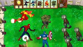 Avengers Vs Plants Vs Zombies(Animation)