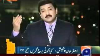 Super reply by Hamid Mir to PPP and PML(N) Politicians---- Imran Khan Capital Talk 24-01-2012