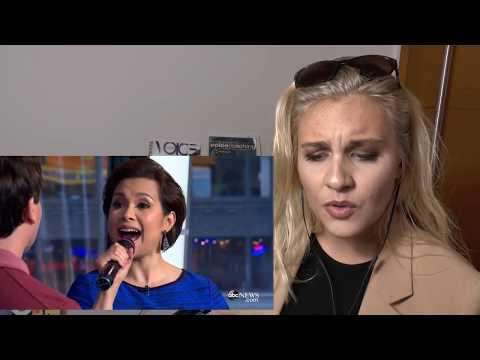 Vocal Coach  | Reaction& Tips|  LEA SALONGA &Brad Kane perform 'A Whole New World
