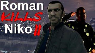 GTA IV : Roman kills Niko 2