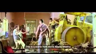 Khatta Meetha 's one scene copied from an episode of Malgudi Days