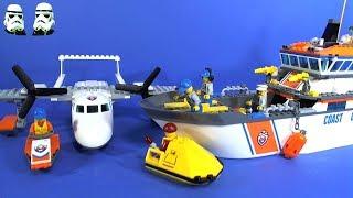 LEGO City Coast Guard Sea Rescue Plane 60164